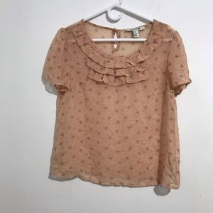 Forever 21 Peter Pan blouse